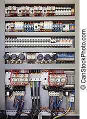 Elektrische Schalttafel