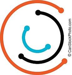 Elektrische Verbindung Logo Design Vorlage Vektor.