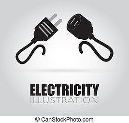 Elektrisches Design.