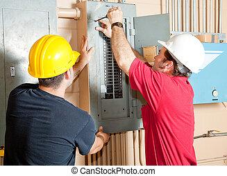 Elektrisches Teamwork.