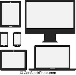 Elektronische Geräte-Icons