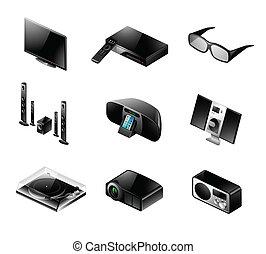 Elektronische Ikone - Fernsehen und Audio