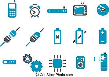Elektronische Ikone