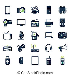 Elektronische und Spielzeug-Ikonen