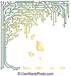 Elektronischer Baum