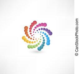 Elemente mit Spiralbewegungen entwerfen.
