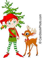 Elf und Rudolf