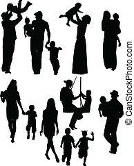 Eltern und Kinder