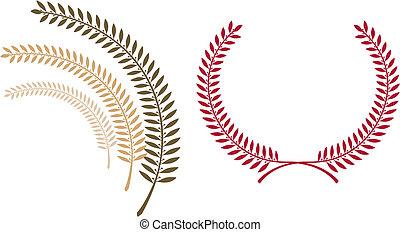 emblem, schablone