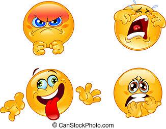 Emotionen emoticons