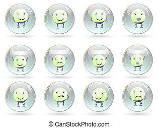 Emotionen lächeln