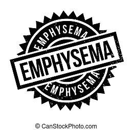 Emphysemischer Gummistempel