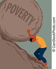 Endloser Kampf gegen Armut.