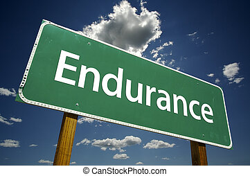 Endurance Road-Schild