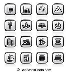 Energie, Energie und elektrische Ikonen