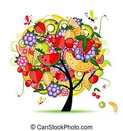 Energie-Fruchtbaum für dein Design