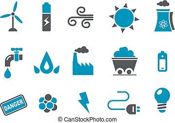 Energie-Icon-Set