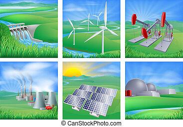 Energie und Energiequellen