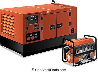 Energiegeneratoren.