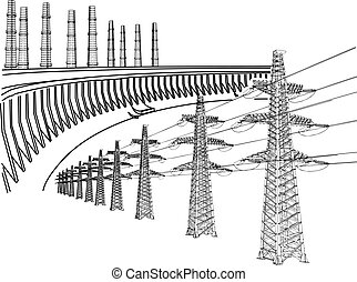 Energieleitung
