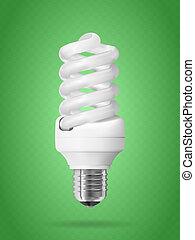 Energiesparlampe.