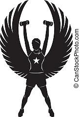 engelchen, fitness