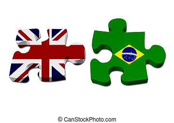 England arbeitet mit Brasilien.