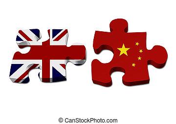 England arbeitet mit Porzellan.