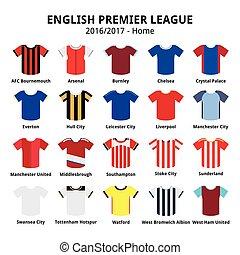 Englische erste Liga 2016 2017.