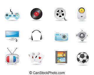 Entertainment Icon Set