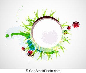Entferne wunderschönen Blumen Hintergrund