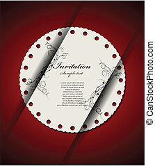 Entkoretive Einladungskarte