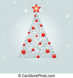 Entkorierter Weihnachtsbaum
