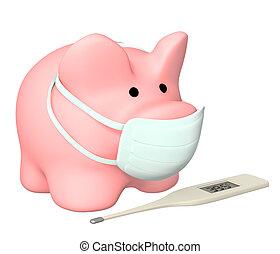 Epidemie einer Schweinegrippe