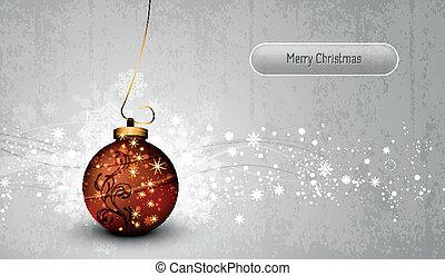erdball, gruß, silber, karte, weihnachten, bronze