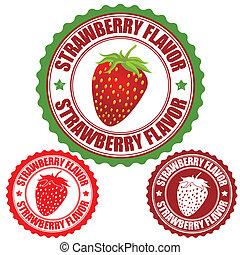 Erdbeergeschmacksmarke