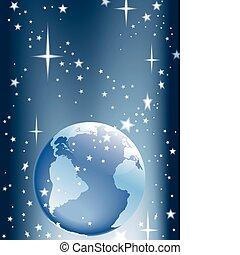 Erde und Sterne