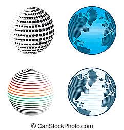 Erdkugel-Ikonen und Symbole deaktivieren