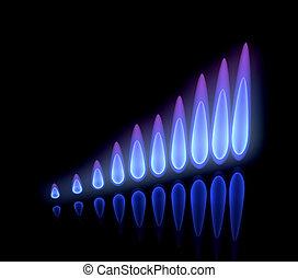 Erhöhte Gaspreise