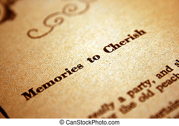 Erinnerungen zu ehren