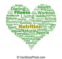 Ernährungsgewohnheiten zeigen gesunde Ernährung und Ernährung