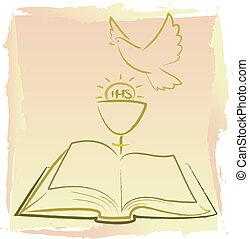 Erste heilige Kommunion - heiliger Geist