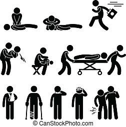 Erste-Hilfe-Notfall-Rettung