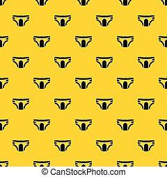 Erwachsene Windeln Muster Vektor.