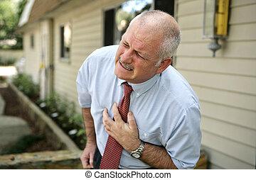 Erwachsener Mann - Herzinfarkt