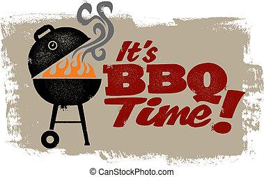 Es ist BBQ-Zeit