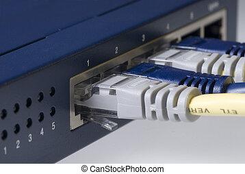 Ethernet Kabelkanal