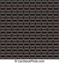Ethnische Muster im Stil der afrikanischen Stämme, australische Aborigines, amerikanische Indianer. Naheloser Hintergrund für Druck auf Stoff