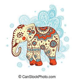 Ethnischer Elefant