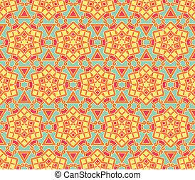 Ethnisches geometrisches nahtloses Muster